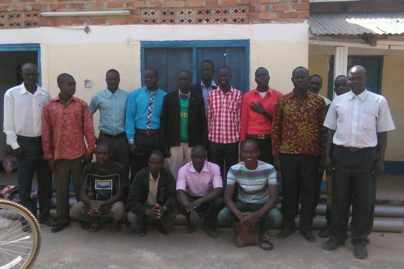 Students arrive at the Concordia Lutheran Institute for the Holy Ministry in South Sudan
